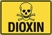 Dioxin Warning Sign