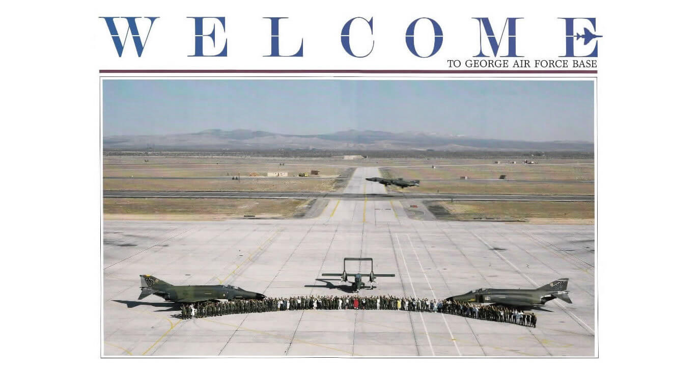 Logo Welcome to George AFB